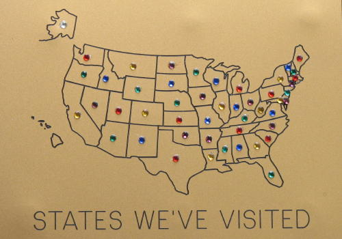 us map for states visited - 28 images - map of us states i ve ...